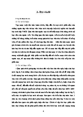 Sáng kiến kinh nghiệm Giúp học sinh viết tốt văn nghị luận Lớp 9