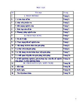 Sáng kiến kinh nghiệm Phương pháp bồi dưỡng học sinh giỏi môn Ngữ văn Lớp 9 tại trường THCS Phạm Hồng Thái, huyện Ea Kar, tỉnh Đắk Lắk