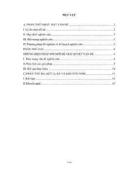 Sáng kiến kinh nghiệm Hướng dẫn học sinh kĩ năng phân tích biểu đồ địa lý 7